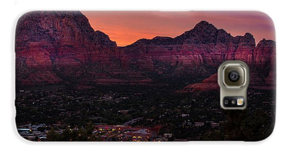 Sunset Over Sedona Az Galaxy S6 Case