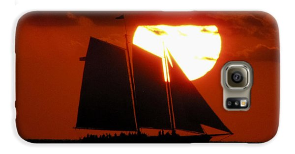 Key West Sunset Sail 5 Galaxy S6 Case