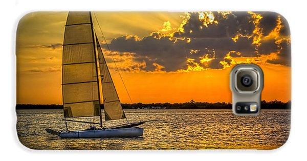 Sunset Sail Galaxy S6 Case