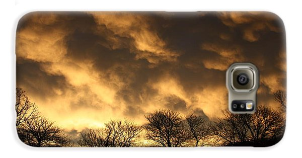 Galaxy S6 Case featuring the photograph Sunset Silhouettes by Nareeta Martin