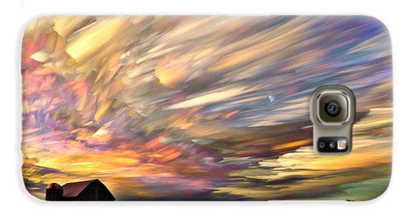 Sunset Spectrum Galaxy S6 Case