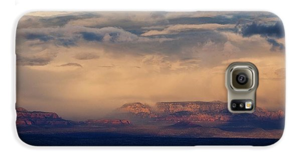 Sunset Winter Storm In Secret Mountain Wilderness Galaxy S6 Case