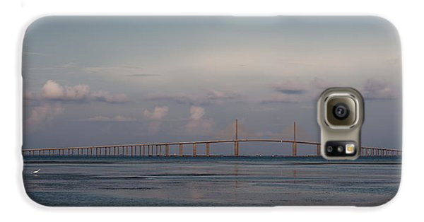 Sunshine Skyway Bridge Galaxy S6 Case