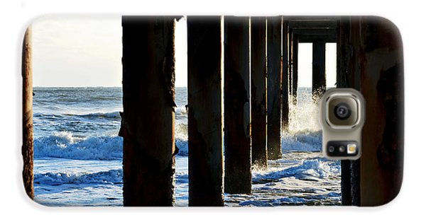 Galaxy S6 Case featuring the photograph Sunwash At St. Johns Pier by Anthony Baatz