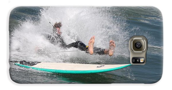 Surfer Wipeout Galaxy S6 Case by Nathan Rupert