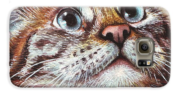 Surprised Kitty Galaxy S6 Case
