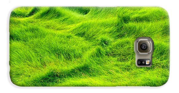 Swamp Grass Abstract Galaxy S6 Case