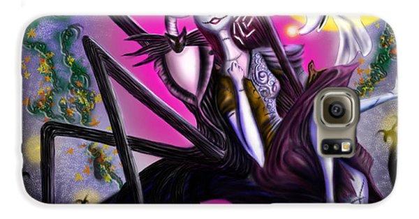 Sweet Loving Dreams In Halloween Night Galaxy S6 Case by Alessandro Della Pietra