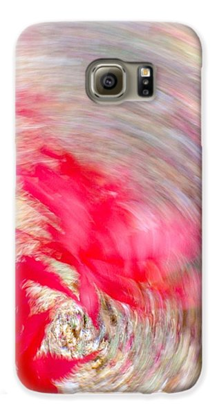 Swirling Japanese Maple Leaves Galaxy S6 Case