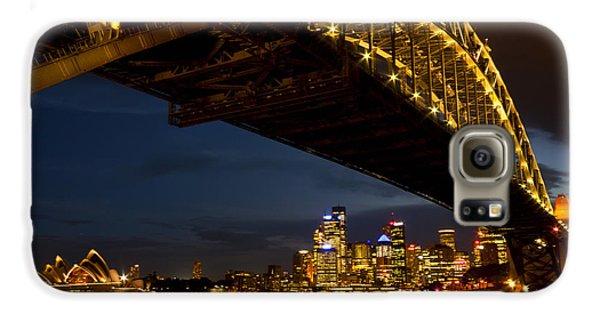 Galaxy S6 Case featuring the photograph Sydney Harbour Bridge by Miroslava Jurcik