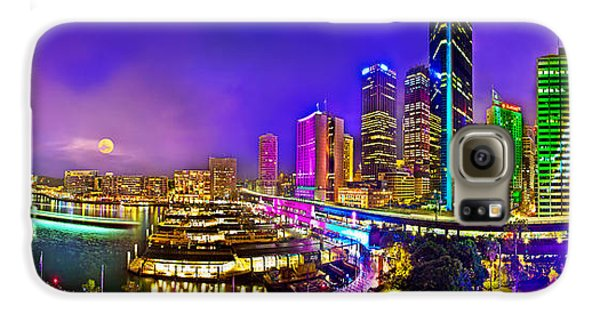 Sydney Vivid Festival Galaxy S6 Case by Az Jackson
