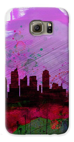 Sydney Watercolor Skyline 2 Galaxy S6 Case by Naxart Studio