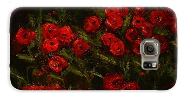 Symphony In Coquelicot Galaxy S6 Case