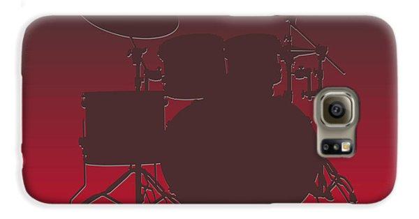 Tampa Bay Buccaneers Drum Set Galaxy S6 Case by Joe Hamilton