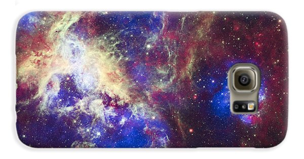 Tarantula Nebula Galaxy S6 Case