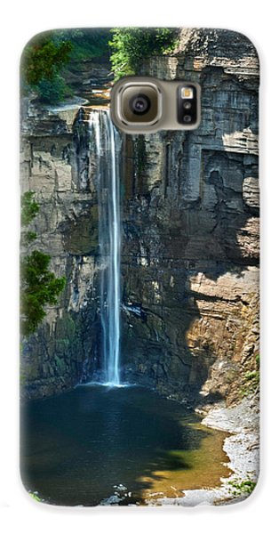 Taughannock Falls Galaxy S6 Case by Christina Rollo
