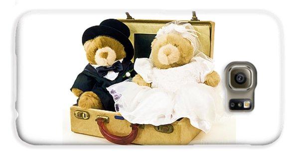 Teddy Bear Honeymoon Galaxy S6 Case by Edward Fielding