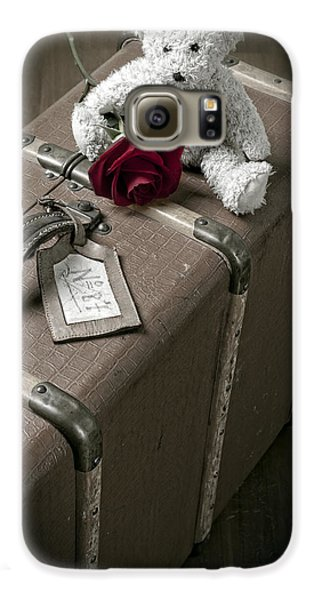 Rose Galaxy S6 Case - Teddy Wants To Travel by Joana Kruse