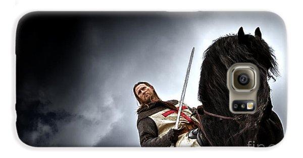 Templar Knight Friesian II Galaxy S6 Case by Holly Martin