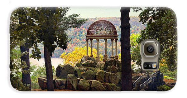 Temple Of Love In Autumn Galaxy S6 Case