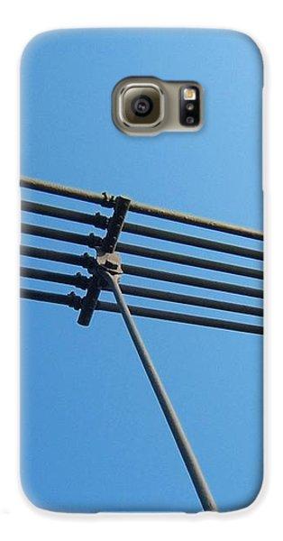 Galaxy S6 Case featuring the photograph Tendu Sur Le Ciel by Marc Philippe Joly