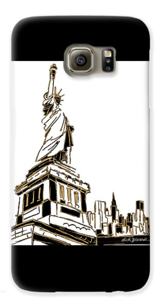 Tenement Liberty Galaxy S6 Case by Nicholas Biscardi