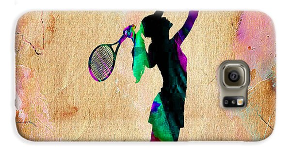 Tennis Player Galaxy S6 Case
