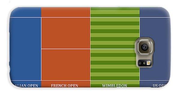 Tennis Player-s Dream Galaxy S6 Case by Carlos Vieira