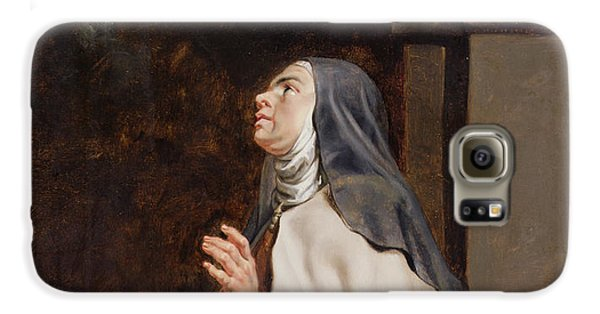 Teresa Of Avilas Vision Of A Dove Galaxy S6 Case by Peter Paul Rubens
