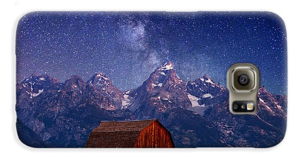 Teton Nights Galaxy S6 Case by Darren  White