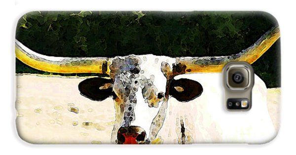 Texas Longhorn - Bull Cow Galaxy S6 Case