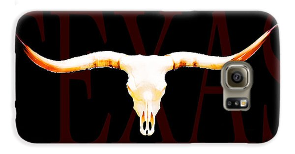 Texas Longhorns By Sharon Cummings Galaxy S6 Case by Sharon Cummings