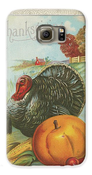 Thanksgiving Postcards I Galaxy S6 Case by Wild Apple Portfolio