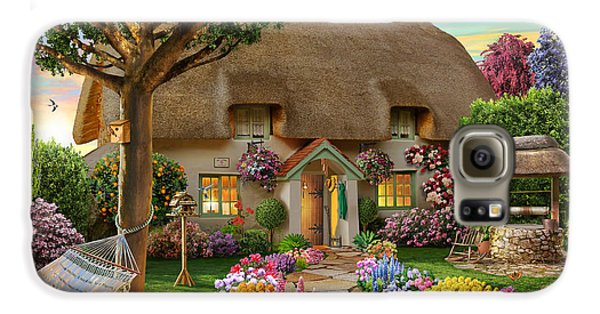 Thatched Cottage Galaxy S6 Case