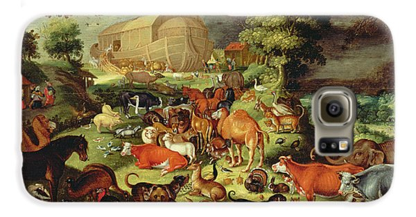 The Animals Entering The Ark Galaxy S6 Case