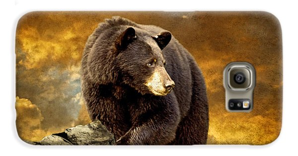 Mountain Sunset Galaxy S6 Case - The Bear Went Over The Mountain by Lois Bryan