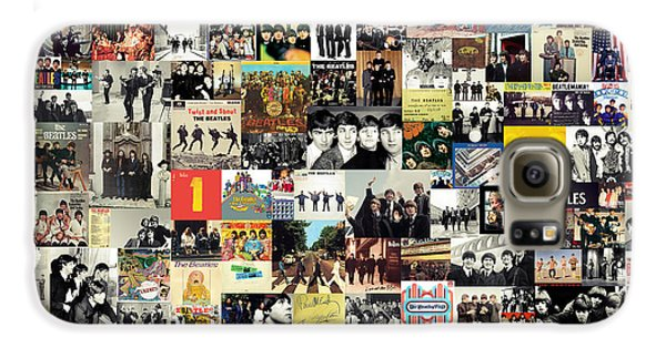 The Beatles Collage Galaxy S6 Case