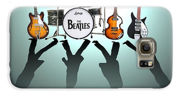 Drum Galaxy S6 Case - The Beatles by Lena Day
