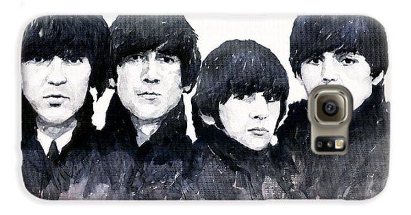 Musicians Galaxy S6 Case - The Beatles by Yuriy Shevchuk