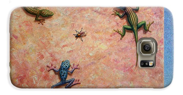 Amphibians Galaxy S6 Case - The Big Fly by James W Johnson