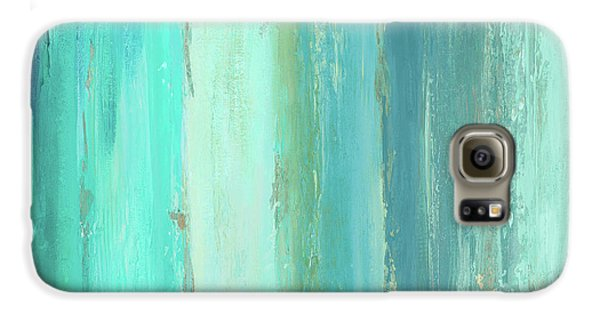 Abstract Galaxy S6 Case - The Blue Palette by Patricia Pinto