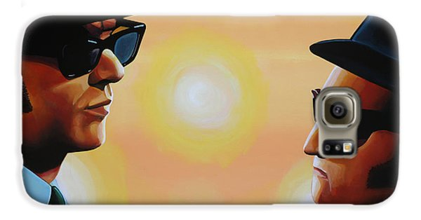 Rhythm And Blues Galaxy S6 Case - The Blues Brothers by Paul Meijering