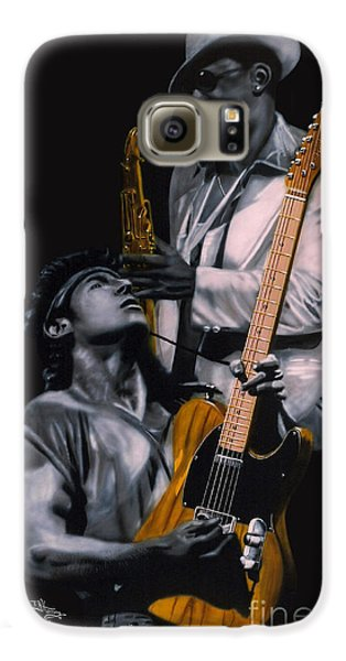 Bruce Springsteen And Clarence Clemons Galaxy S6 Case