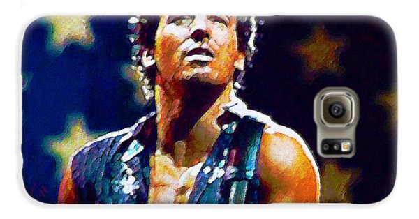 Bruce Springsteen Galaxy S6 Case - The Boss by John Travisano