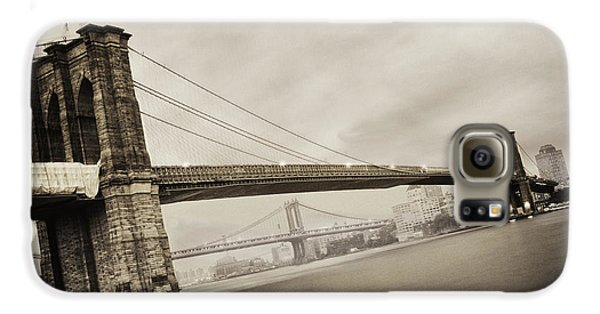 The Brooklyn Bridge Galaxy S6 Case by Eli Katz