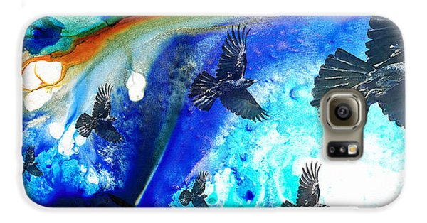 The Calling - Raven Crow Art By Sharon Cummings Galaxy S6 Case