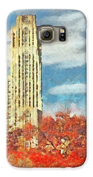 The Cathedral Of Learning At The University Of Pittsburgh Galaxy S6 Case