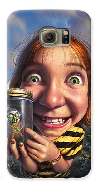 Aliens Galaxy S6 Case - The Collector by Mark Fredrickson