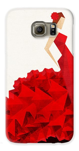 The Dancer Flamenco Galaxy S6 Case by VessDSign