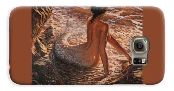 The Daughter Of The Sea Galaxy S6 Case by Marco Busoni